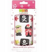 Zuckerfiguren Pirat 9 Stk.