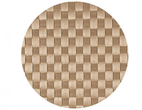 PP-Tischset gewebt, rund, beige, Ø 36 cm