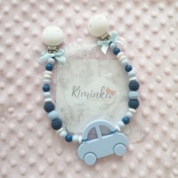 Kinderwagenkette gross *BLUE CAR*