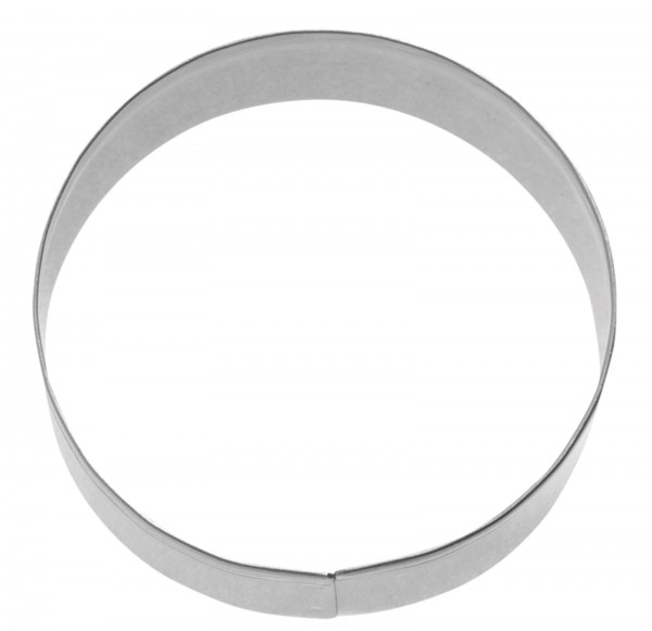 "3 Stk. Terrassen-Ausstechformen ""Ring glatt"", Ø 4/5/6 cm"