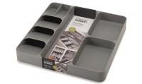 DrawerStore Besteckeinlage, grau, 38.4x39.7x5.3cm