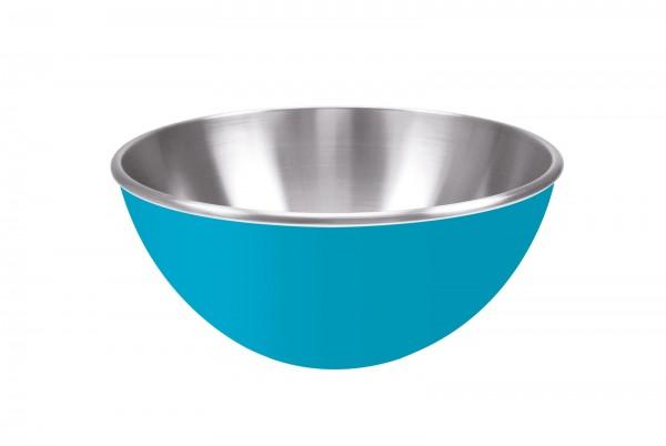 Gemini Schüssel aqua blau, doppelwandig 25 cm