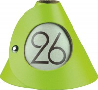 Tischnummer grün 10er-Set