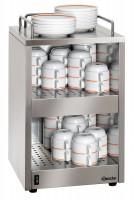 Tassenwärmer für bis zu 72 Tassen, Ablagefläche: 250x250mm