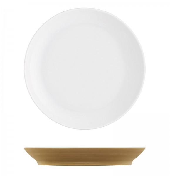 Omnia Frühstücksteller bronze ø19cm