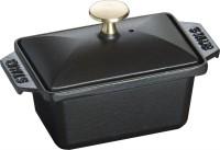 Terrinenform klein schwarz, 15x11cm