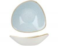 Stonecast Duck Egg Hellblau Triangel Teller tief 23.5cm