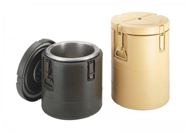 Isolierter Behälter gelb ohne Einsätze Inhalt: 23 lt.