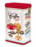 Kaffee Aufbewahrungsdose, 13x8x21 cm, rot