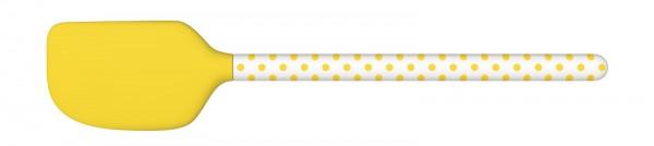 Dotty Teigspachtel 31 cm, gelb