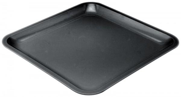 6x Seaside Platte schwarz 26 cm