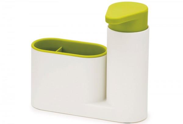 SinkBase 2-tlg, weiss/grün