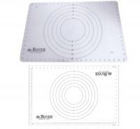 Silikonbackmatte 60x40cm mit konzentrischen Ringen