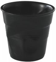 Kaffee Knitterbecher 12cl, schwarz