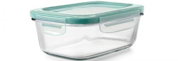 SNAP Glas Vorratsbehälter, rechteckig, 840 ml