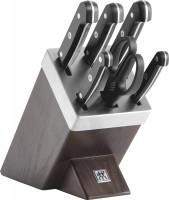 ZWILLING Gourmet Selbstschärfender Messerblock, 7-tlg.