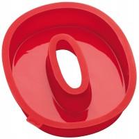 Zahlen Backformen Nummer 0, rot