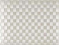 PP-Tischset gewebt, eckig, lichtgrau, 30x40 cm