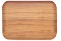 Osmos Tablett Buchenholz Optik/weiss 40×30×1.1 cm