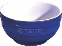 Keramik Schüssel, blau rund 0.7l / Ø14 cm