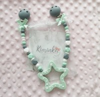 Kinderwagenkette gross *STAR GREEN*