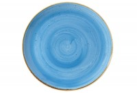 Stonecast Cornflower Blau Teller coupe flach 26cm