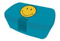 Smiley Lunchbox, blau, 16.9x12x6.6cm