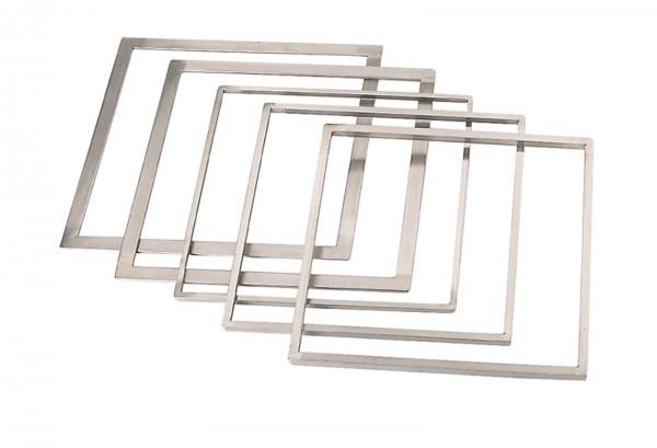 Rahmen zum ebnen von Torten 33.7x33.7cm H: 12mm
