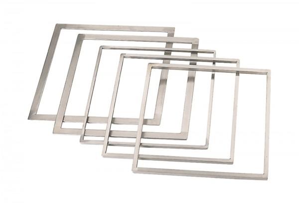 Rahmen zum ebnen von Torten 33.7x33.7cm H: 8mm