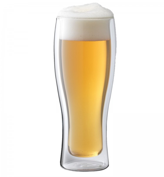 "Sorrento ""Bar"" Biergläser doppelwandig, 2er Set, 414 ml"