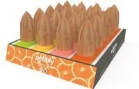 Pebbly Display Zitruspresse 16 Stk. assortiert