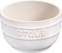 Keramik Ramequin rund, 2er Set, Elfenbein-weiss, 8 cm