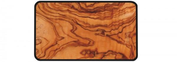 Osmos Servierbrett Olivenholz Optik/schwarz 23.5×16×0.4 cm