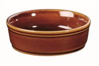 Rustics Schälchen 11cm, Braun