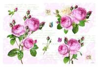 Romantic Roses Tischset 45x30 cm