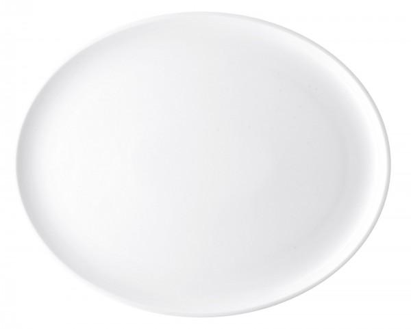 Profi/weiss Platte oval 36cm
