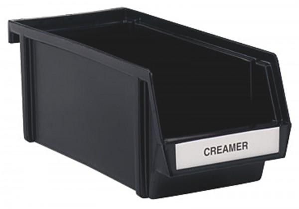 Besteckbox schwarz 20.3x12.7cm h:10.8cm