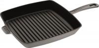 American Grillpfanne 26 cm, Graphit-Grau, Gusseisen