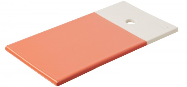 Color Lab Tablett rechteckig, 24.5x13x0.8 cm, orange