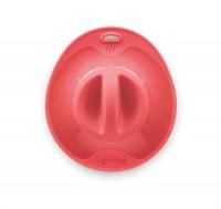 Silikondeckel, rot 10.5 cm