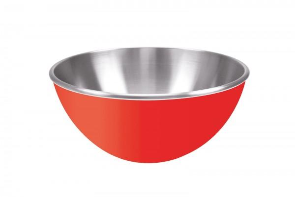 Gemini Schüssel rot, doppelwandig 25 cm
