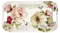 Fleurs Tablett 40x21 cm