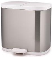 Split Steel Trenn-Abfallbehälter, 2x3l, 27x18x28.4cm