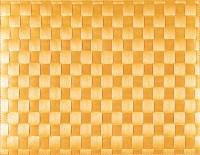 PP-Tischset gewebt, eckig, gelb, 30x40 cm
