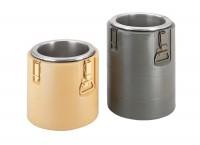 Iso-Behälter gelb ohne Deckel, ohne Einsätze Inhalt: 23 lt.