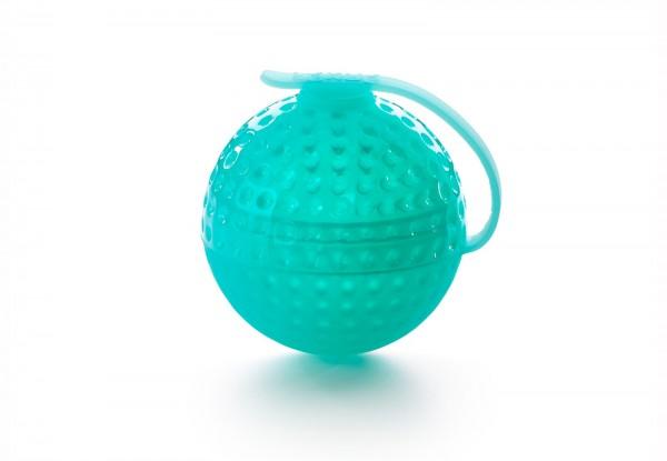 Eiskugel, Golfball türkis