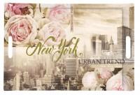 Urban Trend Tablett m. Griffen 49x34 cm