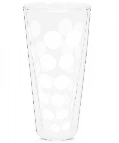 Dot Dot Latte Macchiato weiss, doppelwandig 35 cl