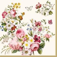Blooming opulence Servietten 20 Stk., 33x33 cm