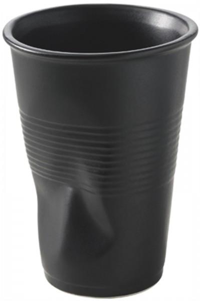 6x Wasserknitterbecher 25 cl, schwarz